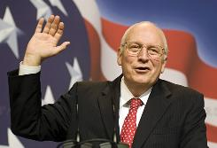 Former vice president Dick Cheney said in his statement that he expects to resume an active life.