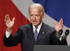 """Training of Afghan forces is going """"painfully slow and difficult,"""" Vice President Biden says."""