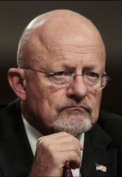 In this July 20, 2010 file photo, Director of National Intelligence nominee James Clapper listens to opening statements during Senate Select Committee on Intelligence hearing on his nomination on Capitol Hill in Washington. On Thursday, Clapper was unanimously approved by the Senate Intelligence Committee.