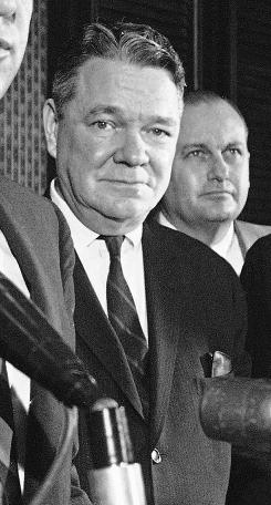 Perhaps the most notable to date had been the disappearance of House Majority Leader Hale Boggs, left, and Alaska representative Nick Begich. The two were flying from Anchorage to Juneau in 1972, and never reached their destination. Their plane has never been found.