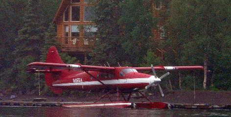 This DeHavilland DHC-3 crashed Monday.