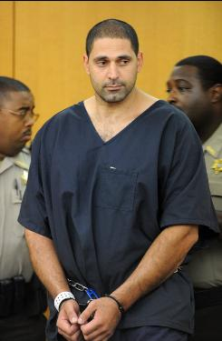 Elias Abuelazam, 33, attends an extradition hearing Friday in Atlanta.