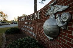 The Marines have added 10,000 active-duty personnel at Camp Lejeune since 2000 for a total of 48,000, plus 5,000 civilian employees.