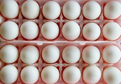 About 550 million eggs have been recalled this month by Wright County Egg and a second Iowa producer on Aug. 20, Hillandale Farms.