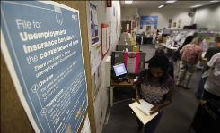 Close to 10 million receive unemployment insurance, nearly four times the number from 2007. Benefits have been extended by Congress eight times beyond the basic 26-week program.