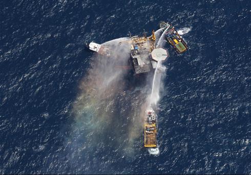 Oil Rig Explosion Mariner