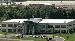 Blackwater Worldwide's headquarters is seen in Moyock, N.C. The New York Times is reporting that the security company formed a network of 30 shell companies and subsidiaries.
