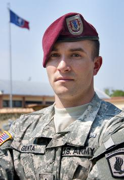 Staff Sgt. Salvatore Giunta will become the first living recipient of the Medal of Honor from the wars in Iraq and Afghanistan.