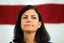Republican Kelly Ayotte's win over conservative lawyer Ovide Lamontagne capped a four-way GOP battle to replace Sen. Judd Gregg, R-N.H.