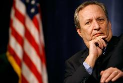 Lawrence Summers, director of the National Economic Council, announced Tuesday that he will return to Harvard University as a professor.