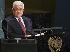 Abbas says settlements block Mideast peace deal