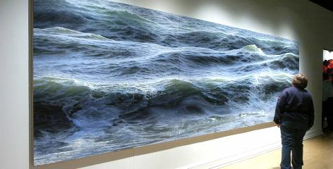 ran Ortner's Open Water No. 24 took first prize in the inaugural ArtPrize competition last year, boosting the Brooklyn artist's career.