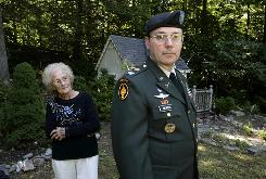 Robert Morris, then a lieutenant colonel, was cleared on charges of conspiring to divert government medical gear for his non-profit. His mother, Lillian, 86, mortgaged her house to help him pay legal bills.