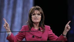 Former Republican vice presidential candidate Sarah Palin in Louisville, Ky., Sept. 16.