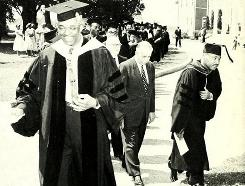 This 1960 yearbook photo shows college President John Taylor Williams, Sen. Harry T. Phoebus and commencement speaker Martin Luther King Jr. at Maryland State College, now called UMES.