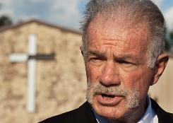 "Pastor Terry Jones refused to apologize for having threatened to burn the Quran, and renewed accusations that radical Islam was a ""destructive"" religion as he spoke to reporters on Sept. 9."