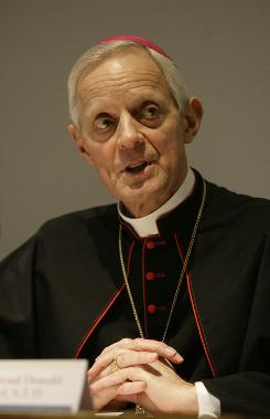 Archbishop of Washington, D.C., Rev. Donald Wuerl, seen here in April 2008 during a lecture in Rome, is one of the 24 new cardinals named by Pope Benedict XVI on Wednesday.