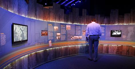 The $7.5 million permanent interactive exhibit about Hurricane Katrina is now open at the Louisiana State Museum in New Orleans' French Quarter.