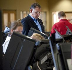 U.S. Rep. John Boozman became the second Republican from the state to serve in the Senate since Reconstruction, defeating Democratic incumbent Blanche Lincoln.