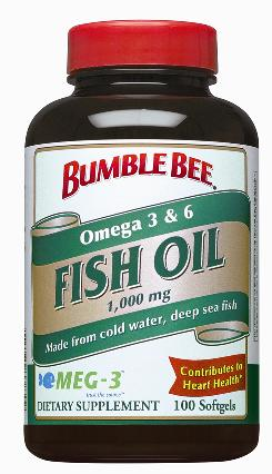 Omega-3 fatty acids are found in oily fish such as salmon, tuna and sardines.