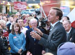 Republican gubernatorial candidate Bill Haslam will succeed Gov. Phil Bredesen.