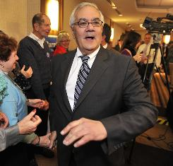 Rep. Barney Frank, D-Mass., whom the non-partisan Cook Political Report considered in a competitive race, cruised to victory.