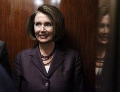Rep. Nancy Pelosi wants to keep her position as leader of the Democrats in the House.