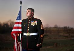 Brandon Bailey was injured in January 2009 in Afghanistan and was told he wouldn't walk again.