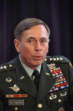 Gen. David Petraeus, the top U.S and NATO commander, was frustrated by President Hamid Karzai's call for reduced U.S. military and operations in the country that undermine efforts to maintain international support for the war at the NATO summit.
