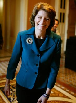 Sen. Lisa Murkowski is the first since 1954 to win Senate seat as a write-in.