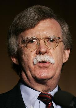 John Bolton, a senior fellow at the American Enterprise Institute, said the North typically tries to threaten the West this way when progress in its illicit nuclear program comes to light.