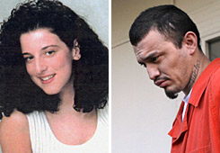 Ingmar Guandique, right, was found guilty Monday of murdering Chandra Levy, left, in 2001.