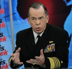 """From my perspective, it's North Korea continuing on a path which is destabilizing for the region,"" Adm. Michael Mullen, the top U.S. military officer, said on CNN's State of the Union."