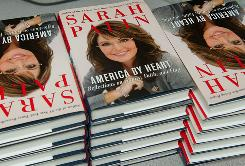 Former Alaska Governor and Republican Vice Presidential candidate Sarah Palin's new book, 'America by Heart: Reflections on Family, Faith and Flag,' was released Tuesday.
