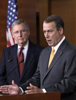 Republican congressional leaders, such as House Speaker-to-be John Boehner of Ohio and Senate Minority Leader Mitch McConnell of Kentucky, will meet with President Obama Tuesday to discuss taxes and other issues in their first such meeting since the midterm elections.
