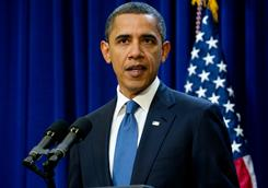 President Obama speaks about a two-year proposal to freeze most government salaries in a move to trim the deficit.