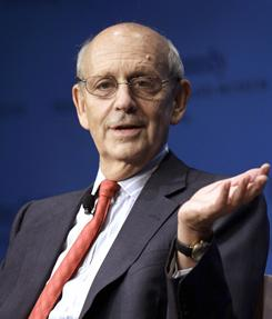 "When talking about the infamous Bush v. Gore of 2000, Justice Stephen Breyer said that despite the decison ""... people did not go into the streets and kill each other. They did not try to resolve it by going into the streets with guns and violence."""