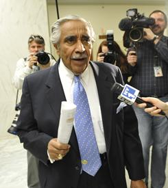 "Rep. Charles Rangel was found to have misused his position. ""I know in my heart that I'm not going to be judged by this Congress,"" he says."