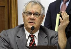 Massachusetts Democrat, Barney Frank, head of the House banking committee, won re-election Nov. 2.