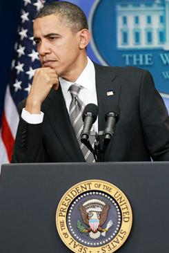 President Obama expressed frustration with the complaints during a news conference Tuesday.