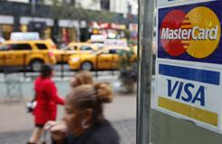 WikiLeaks supporters targeted MasterCard and Visa on Wednesday.