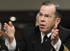 U.S. Adm. Michael Mullen said China must do more to lead North Korea away from escalating the threat of war.