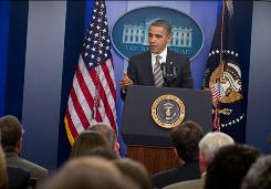 President Obama speaks Tuesday about his fight to overturn tax breaks for the wealthiest Americans in 2012, just a day after reaching a compromise with Republicans to extend the cuts for two years.