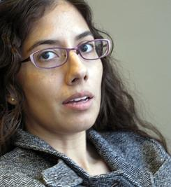 Natasha Singh talks about depression and suicide among Alaska Natives during an interview in Anchorage, Alaska. Singh, was among Alaska Natives who testified to address the disproportionate rate of suicides among American Indians and Alaska Natives.