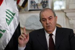 Ayad Allawi would lead a council to oversee security and foreign policy issues in the new government. His party won more seats than any other alliance in the March parliamentary election.
