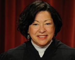Supreme Court Justice Sonia Sotomayor has signed four dissents over rejected appeals and was lead author on three such dissents.