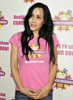 Nadya Suleman and her 14 children could avoid being evicted from their suburban home if mortgage holder Amer Haddadin cuts a deal with Vivid Entertainment co-founder Steve Hirsch.