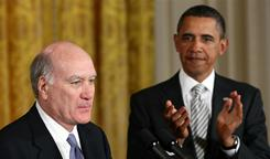 """This team will not let you down,"" former Commerce secretary William Daley tells President Obama on Thursday."