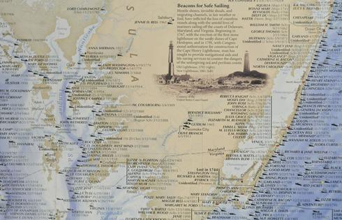A map of the Shipwrecks of Delmarva is being commissioned by National Geographic