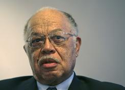In this March 8, 2010, photo, Dr. Kermit Gosnell is seen during an interview with the Philadelphia Daily News at his attorney's office in Philadelphia. Gosnell, an abortion doctor who catered to minorities, immigrants and poor women at the Women's Medical Society, was charged Wednesday with eight counts of murder in the deaths of a patient and seven babies who were born alive and then killed with scissors.